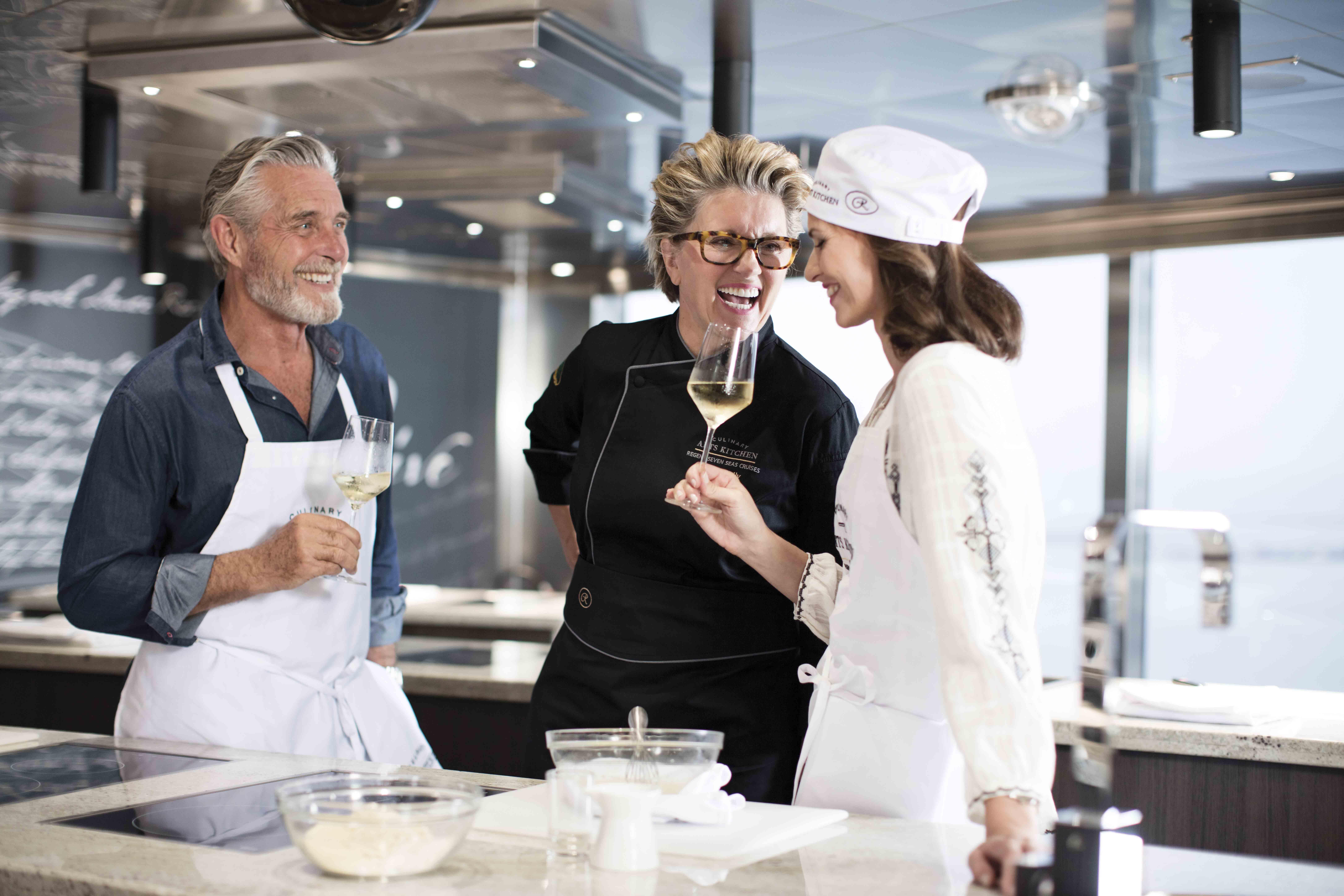 Seven Seas Explorer Culinary Arts Kitchen
