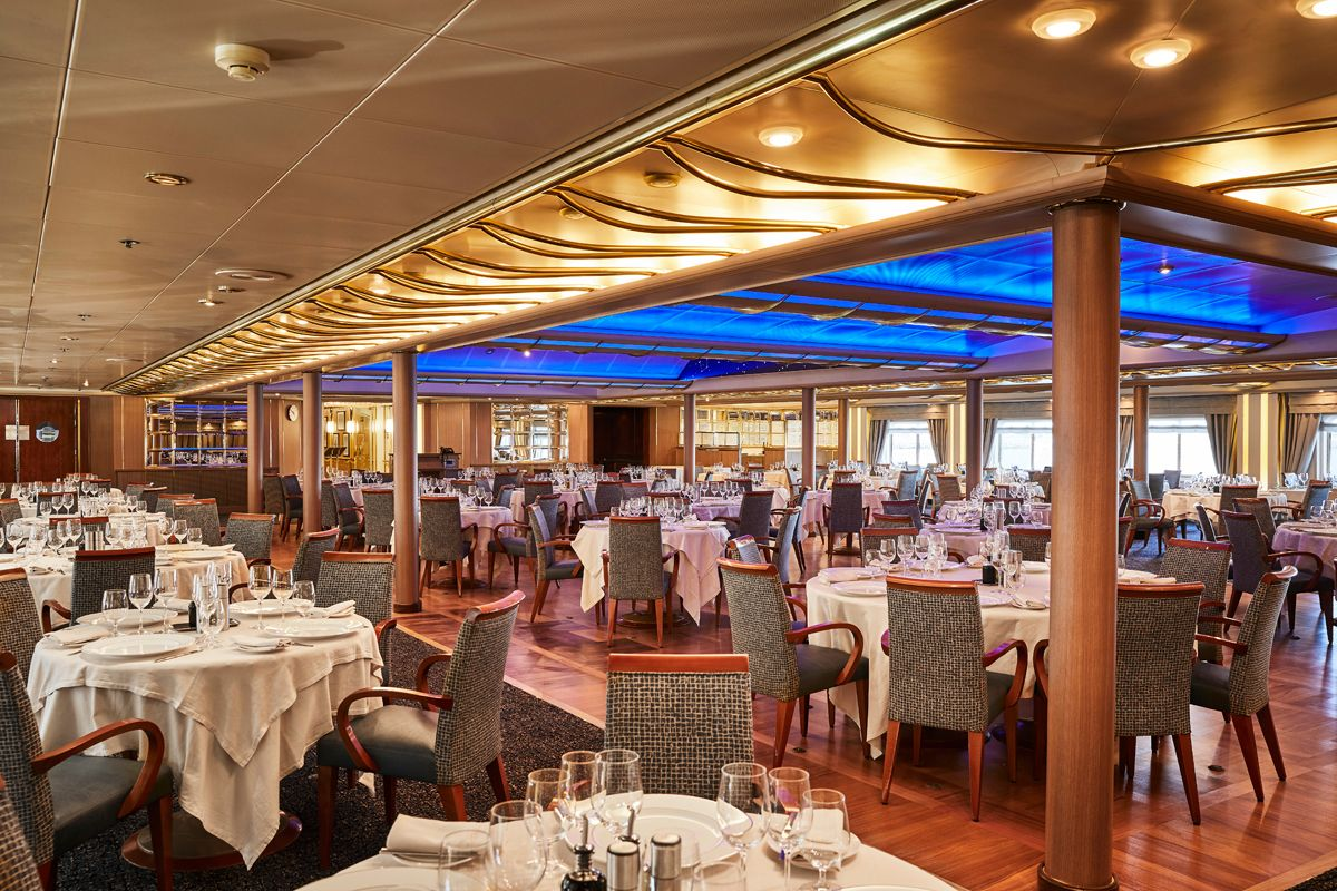 Silversea - Silver Cloud Expedition - The Restaurant