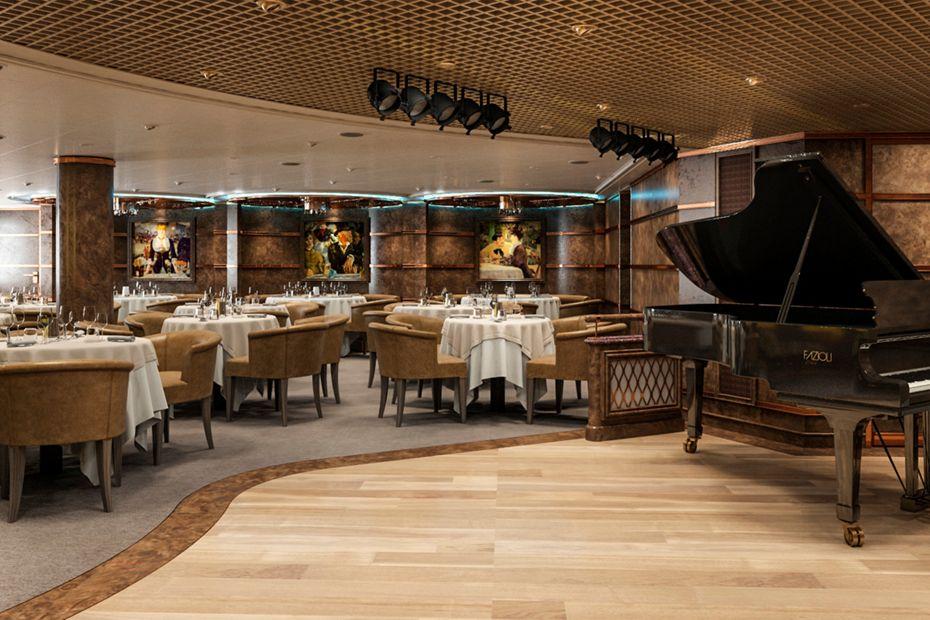 Silversea - Silver Spirit - Silver Note Restaurant