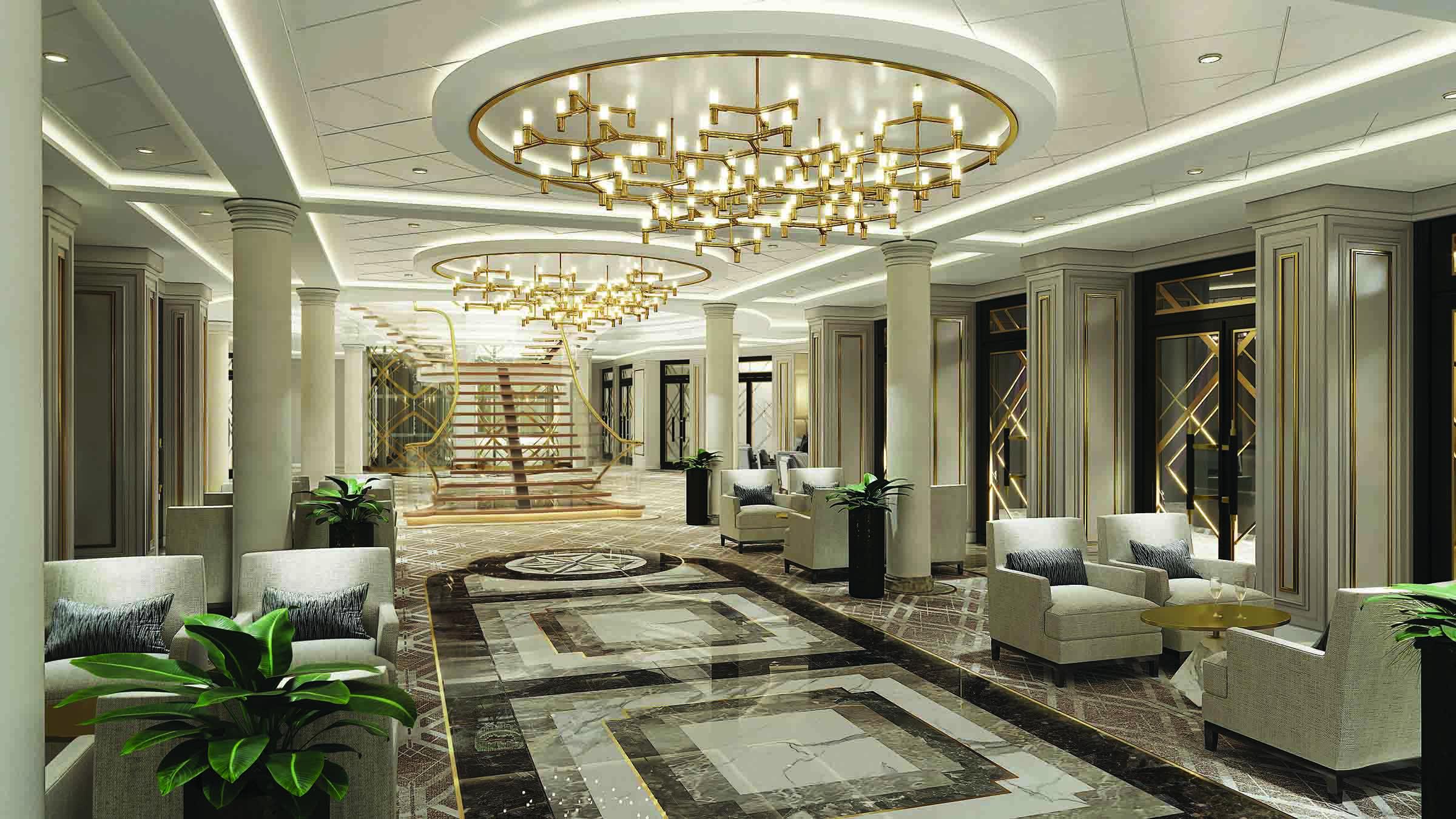 Seven Seas Splendor - Atrium