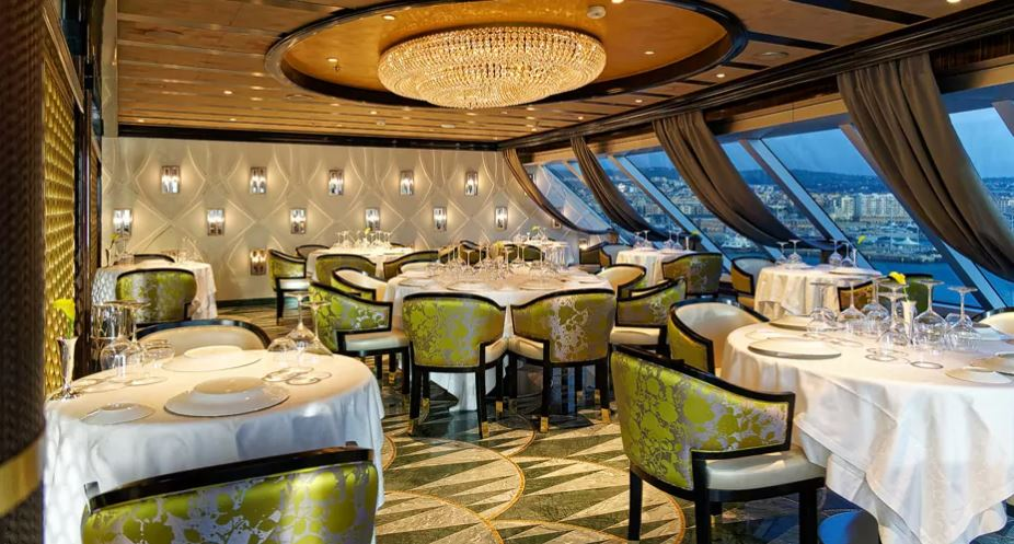 Seven Seas Splendor - Chartreuse Restaurant