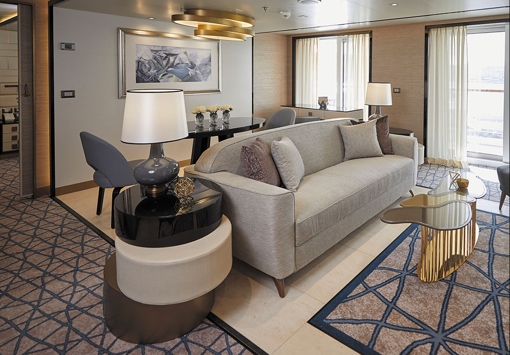 Seven Seas Splendor - Splendor Suite Wohnzimmer