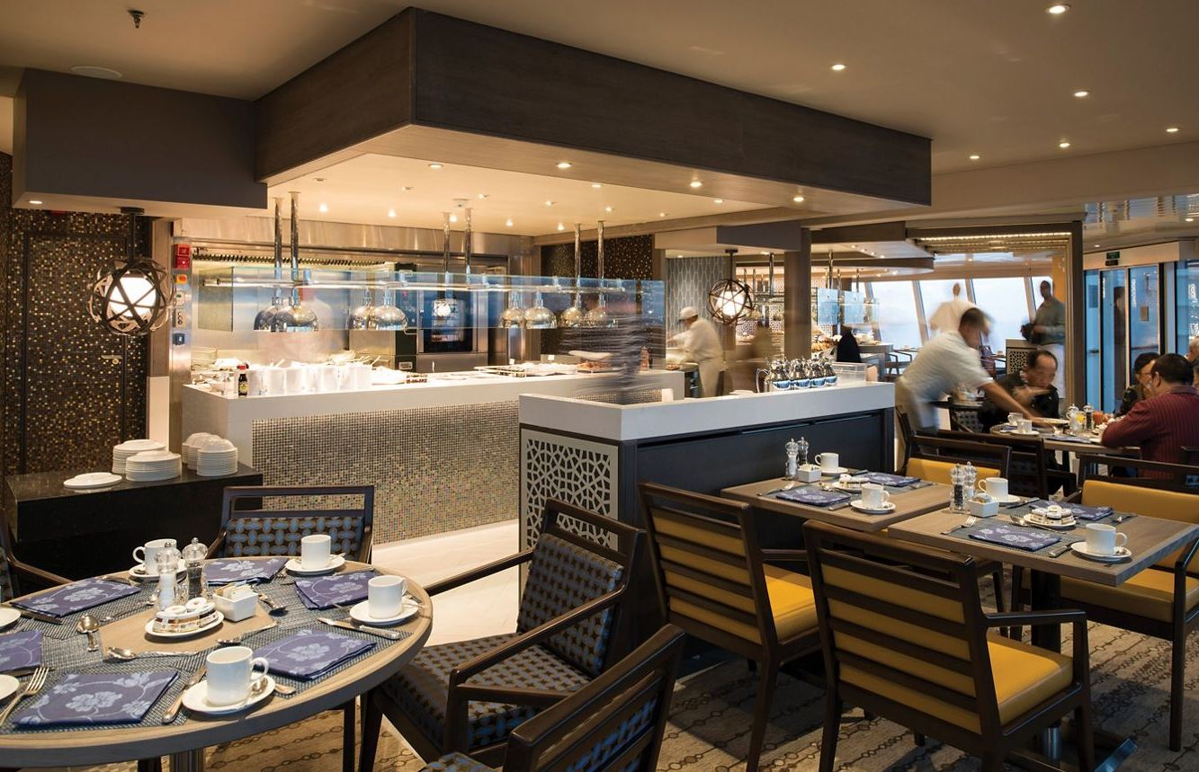 Crystal Serenity - Restaurant Lido Cafe