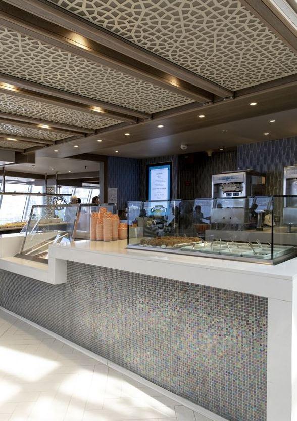 Crystal Serenity - Restaurant Scoops Eisbar