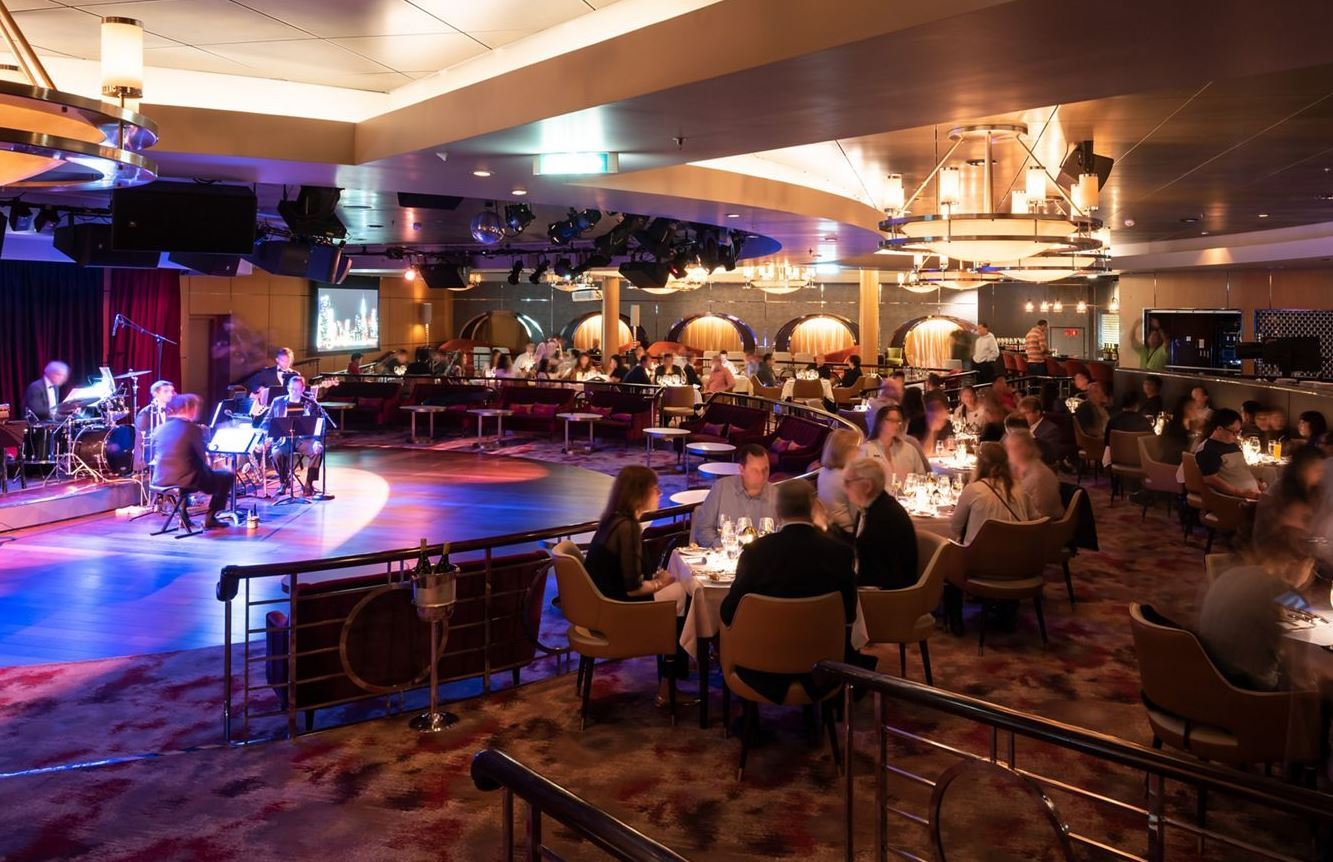 Crystal Serenity - Restaurant Supper Club Show-Dining