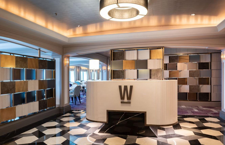 Crystal Serenity - Waterside Main Dining Room Eingang