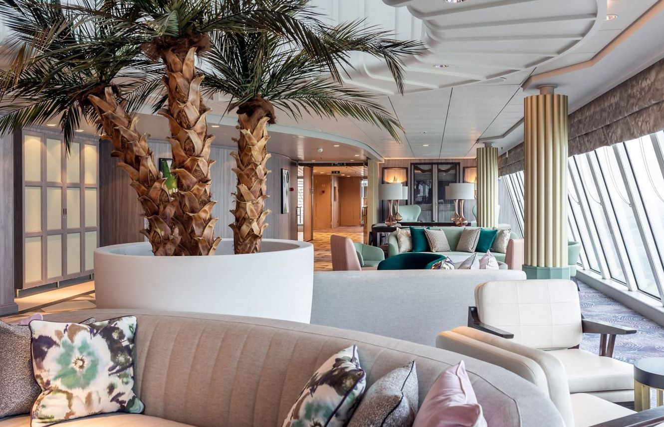 Crystal Serenity - Palm Court Observation Lounge