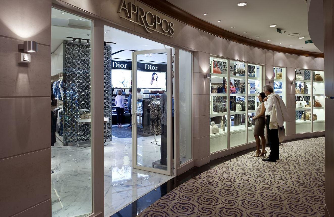Crystal Serenity - Apropos Shopping