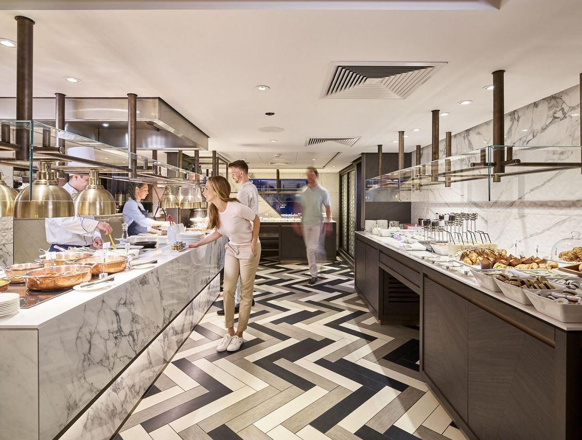 Crystal Bach - Waterside Restaurant 7 - Frühstücksbuffet
