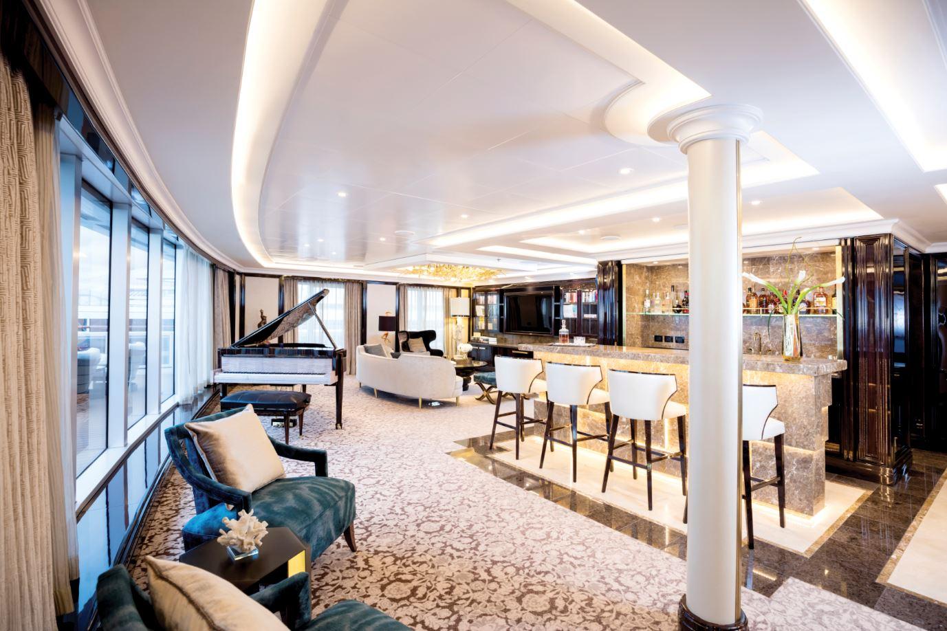 Seven Seas Explorer - Regent Suite - Wohn- & Essbereich
