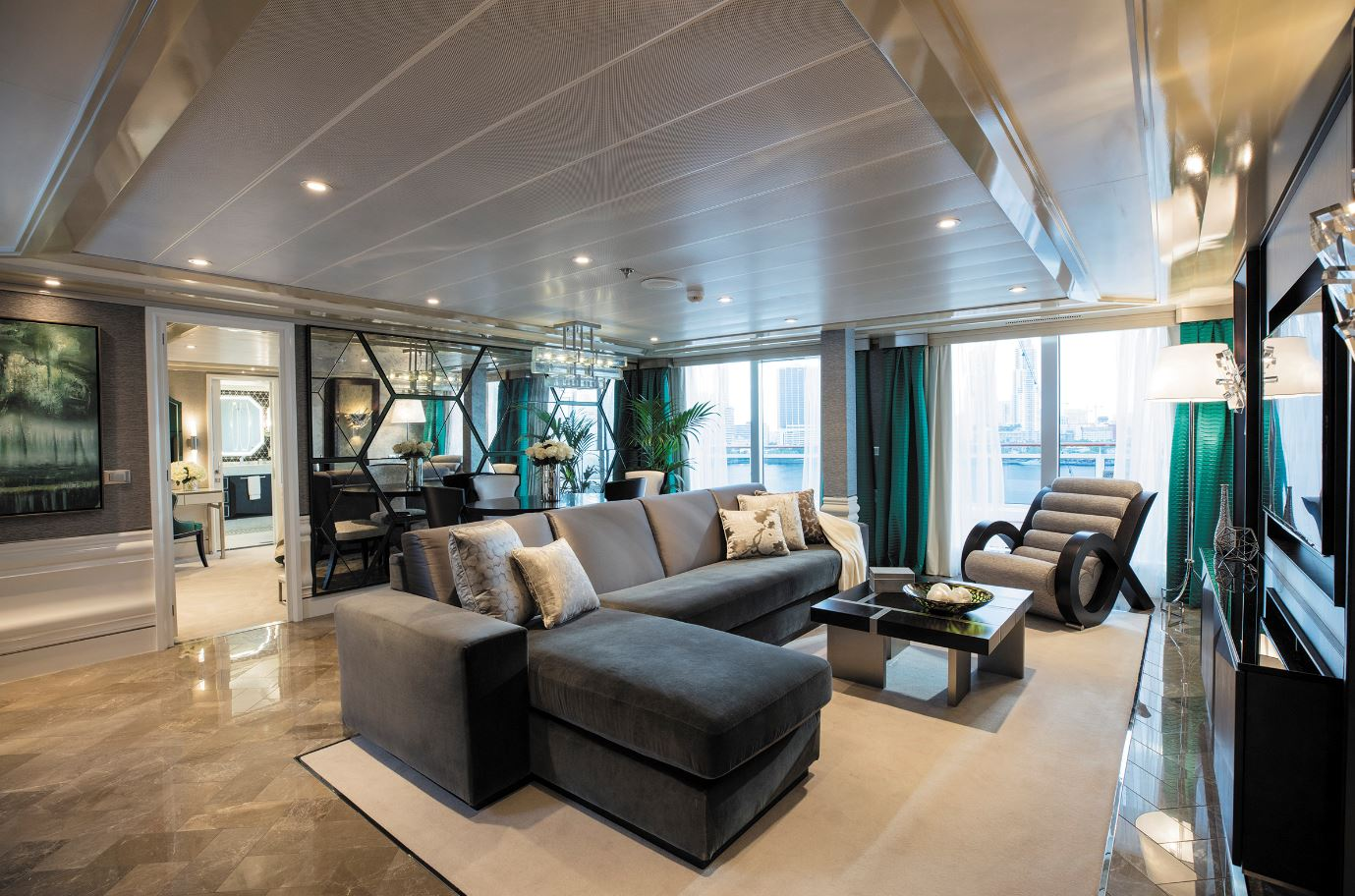 Seven Seas Explorer - Regent Suite - Wohnbereich