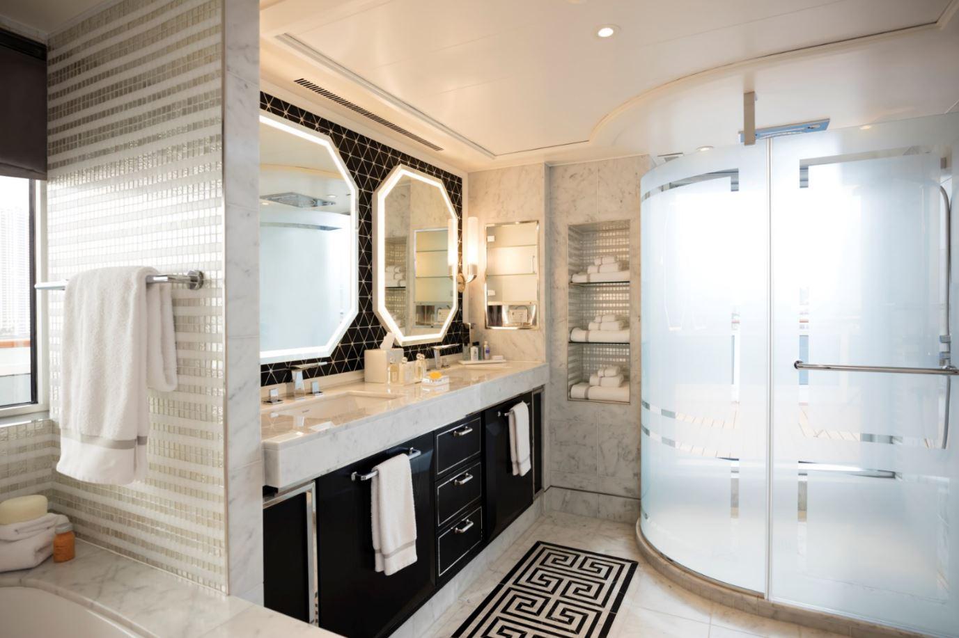 Seven Seas Explorer - Regent Suite - Badezimmer