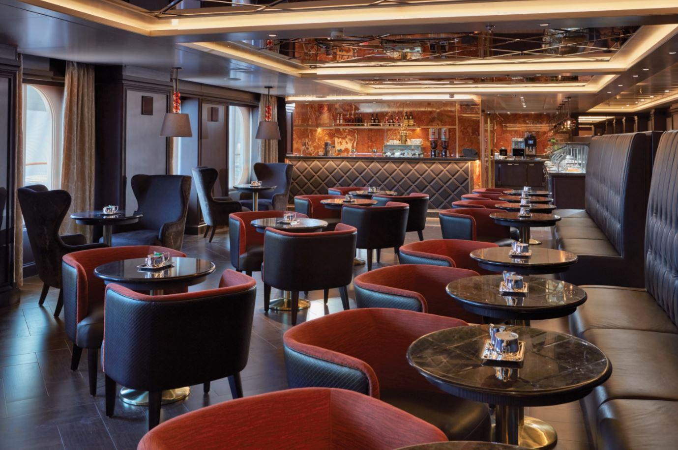 Seven Seas Explorer - Coffee Connection Innenbereich