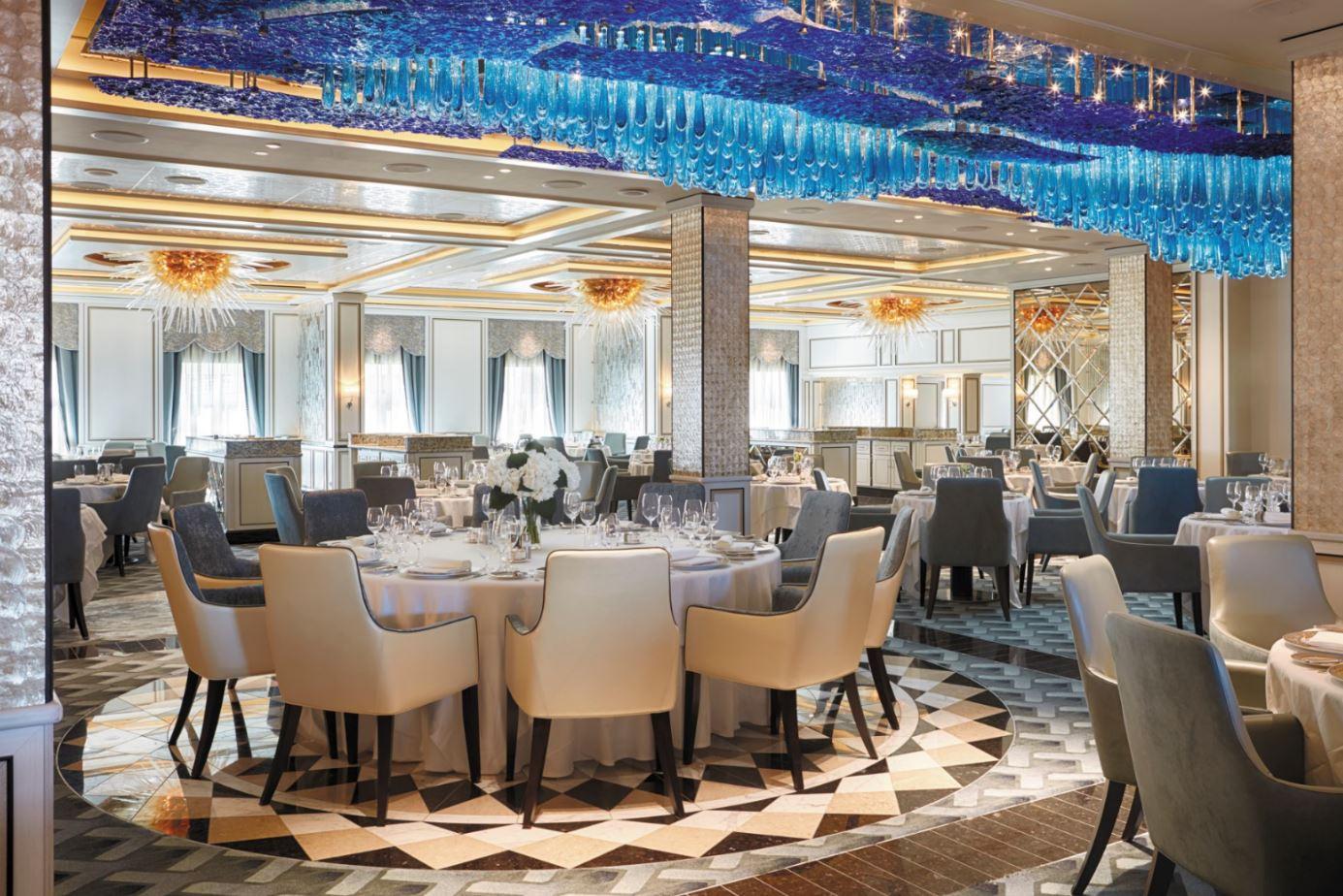 Seven Seas Explorer - Compass Rose Hauptrestaurant