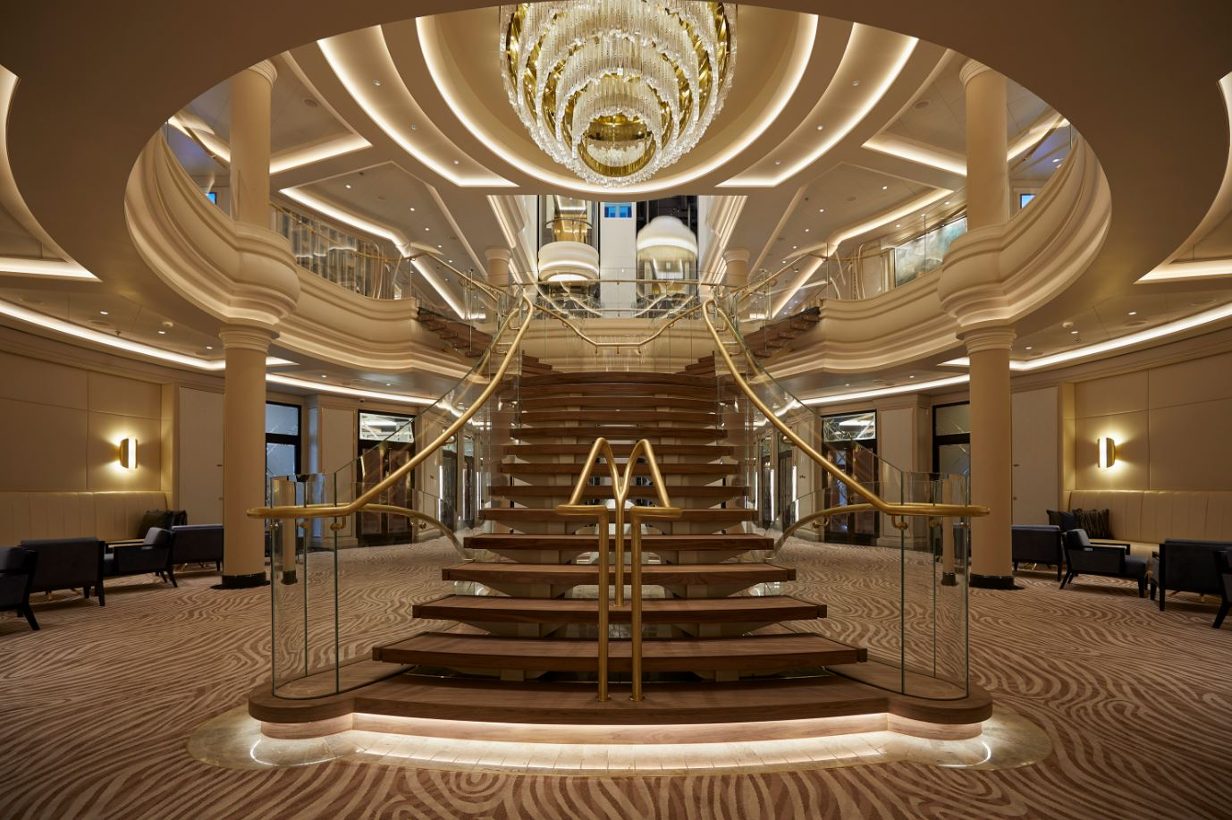 Seven Seas Splendor - Atrium 2