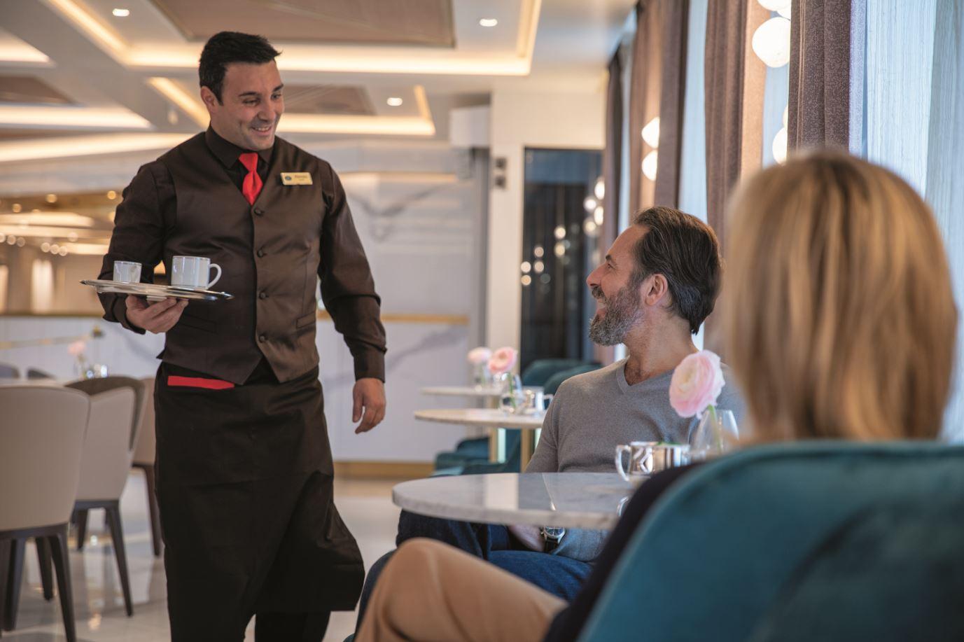 Seven Seas Splendor - Coffee Connection Service