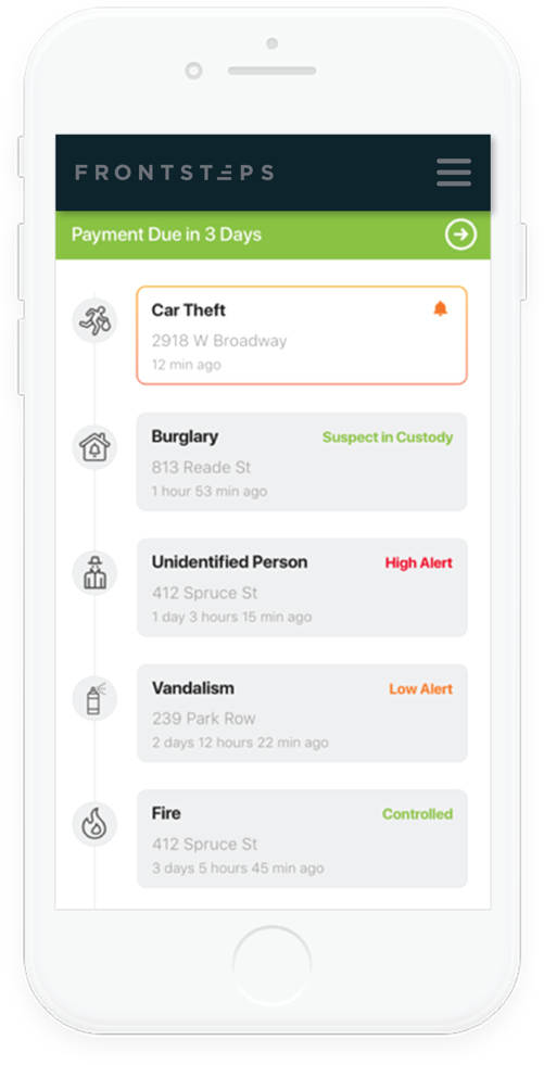 Mobile Security Interface