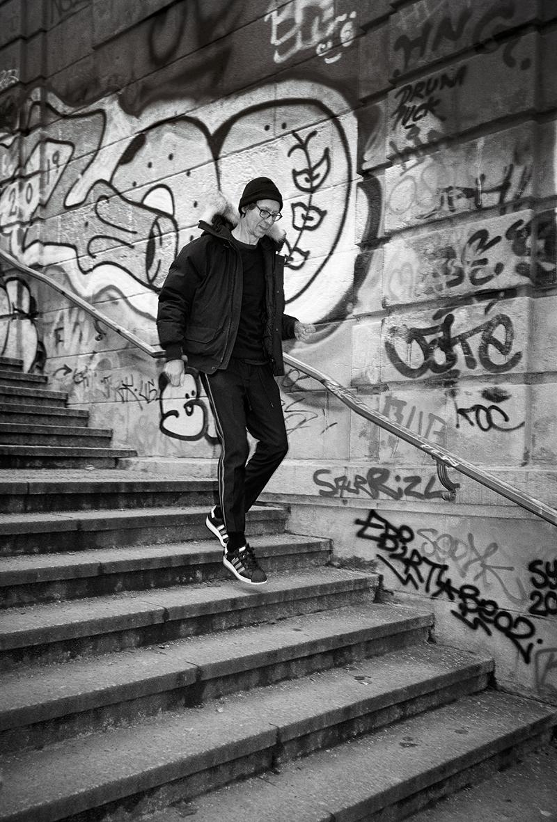 Flake, Keyboarder der Band Rammstein © www.MISSYOU.BERLIN FOTO Harald Hauswald/OSTKREUZ