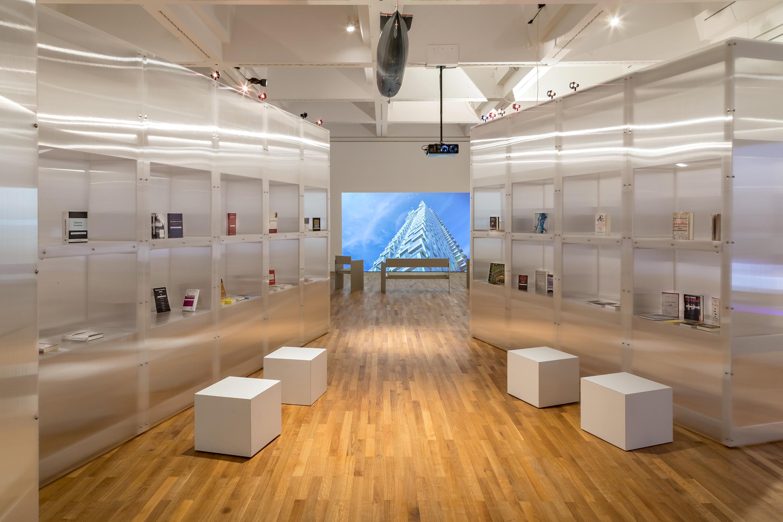 Ausstellungsansicht Beyond States 2021, Kulendran Thomas, Zeppelin Museum, © Foto Tretter