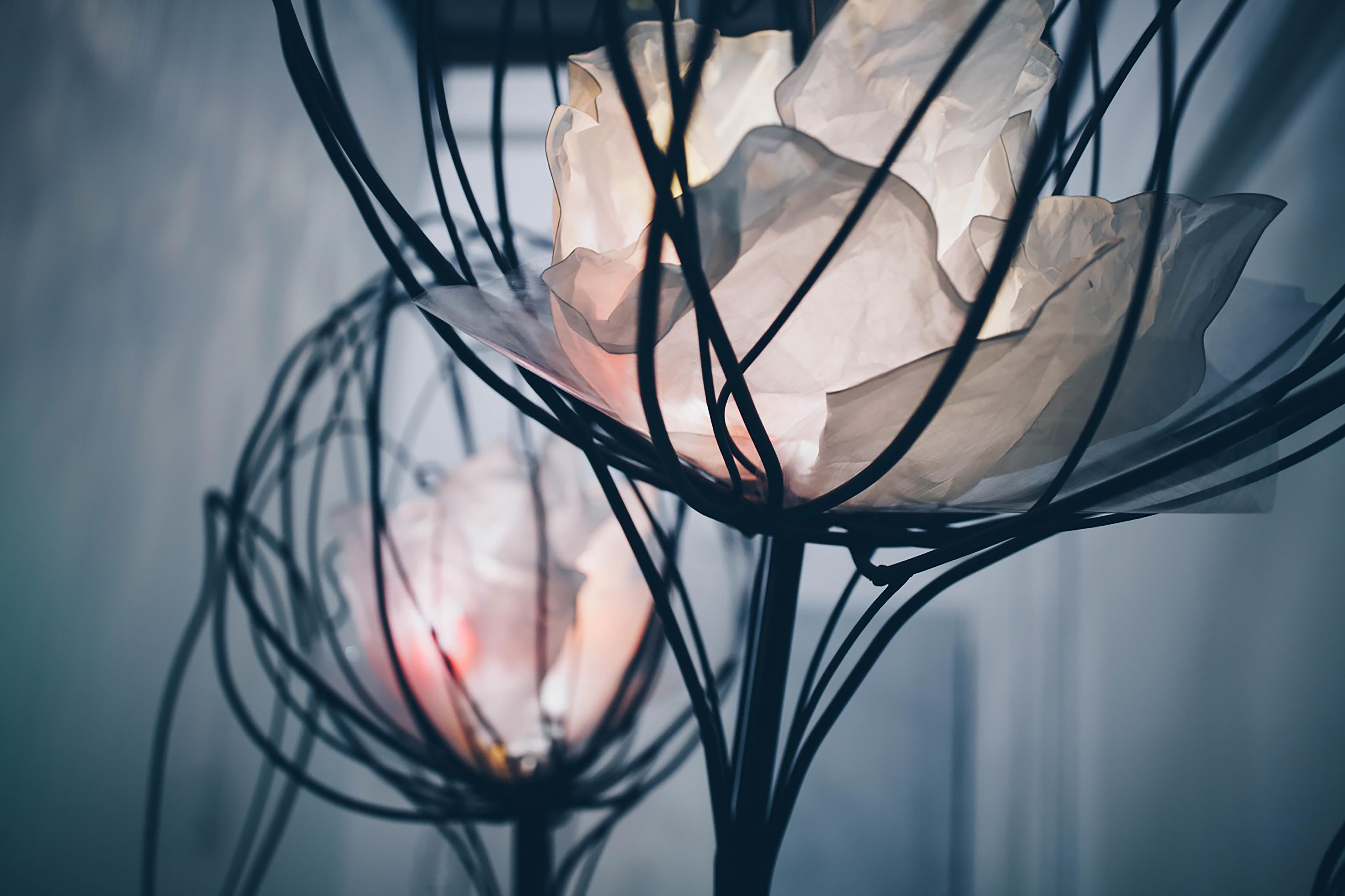 Rendering, H.C.Andersen Haven Magical flowers © Kengo Kuma & Associates