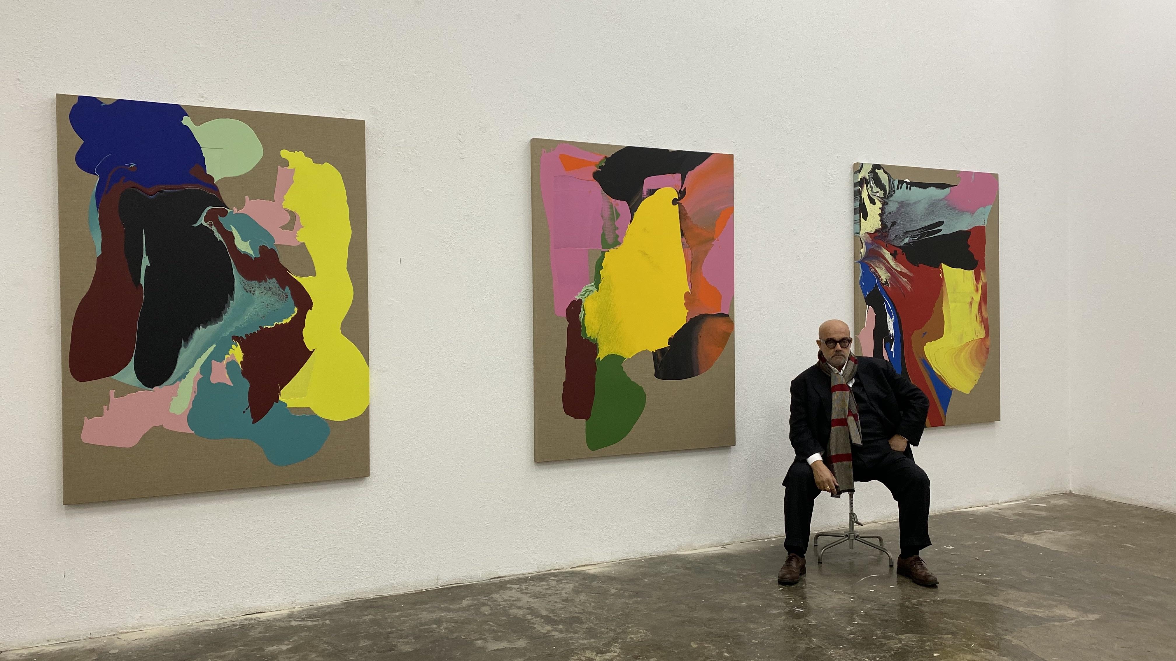 Cabrita in his studio, 2020 © Cabrita Studio