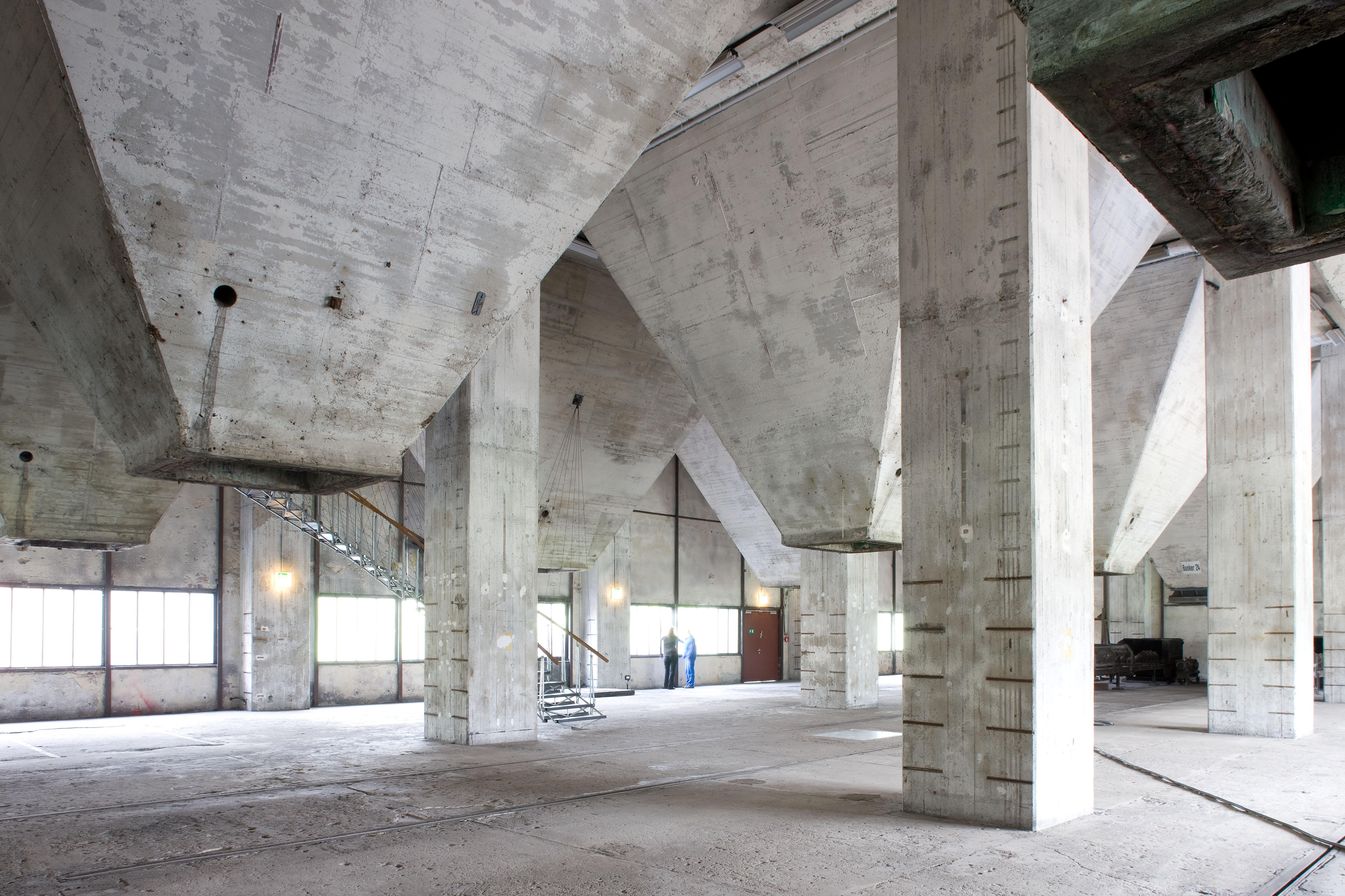 Trichterebene der Mischanlage der Kokerei Zollverein, Foto: Thomas Willemsen © Stiftung Zollverein