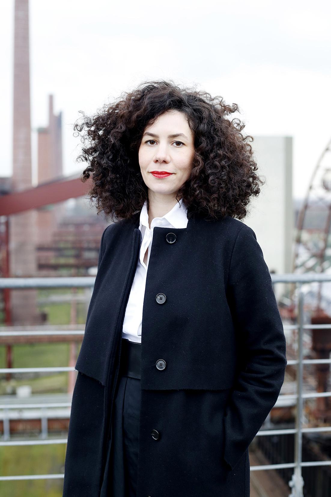 Jasmin Grimm, Künstlerische Leiterin von NEW NOW und der Stiftung Zollverein, Foto: Constanze Flamme