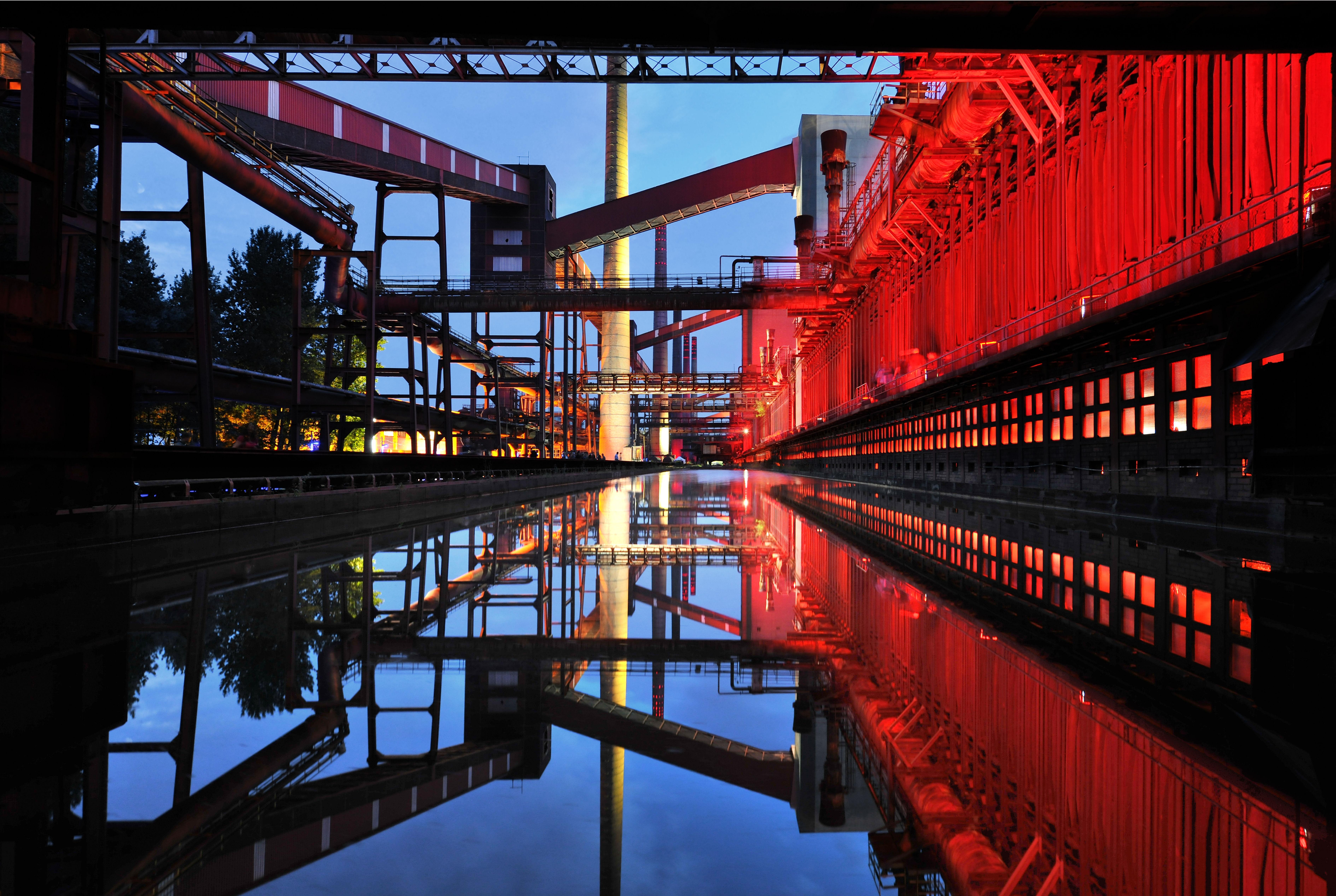 Koksofenbatterie der Kokerei Zollverein, Foto: Frank Vinken © Stiftung Zollverein