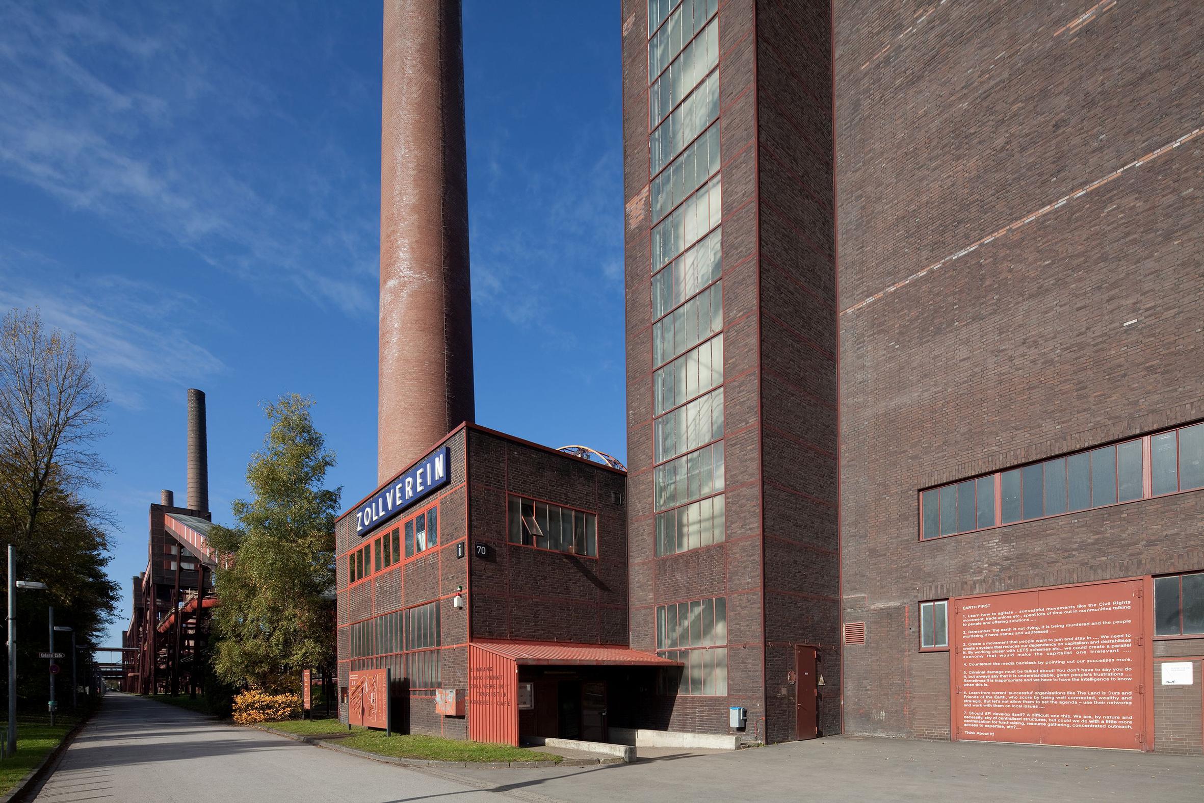 Außenaufnahme der Mischanlage der Kokerei Zollverein, Foto: Thomas Willemsen © Stiftung Zollverein