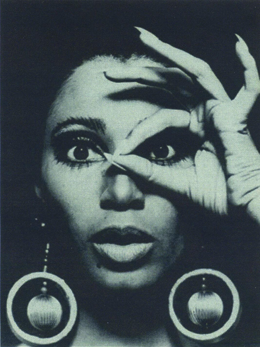 Donyale Luna, 1969, Foto Charlotte March © Sammlung Falkenberg/Deichtorhallen
