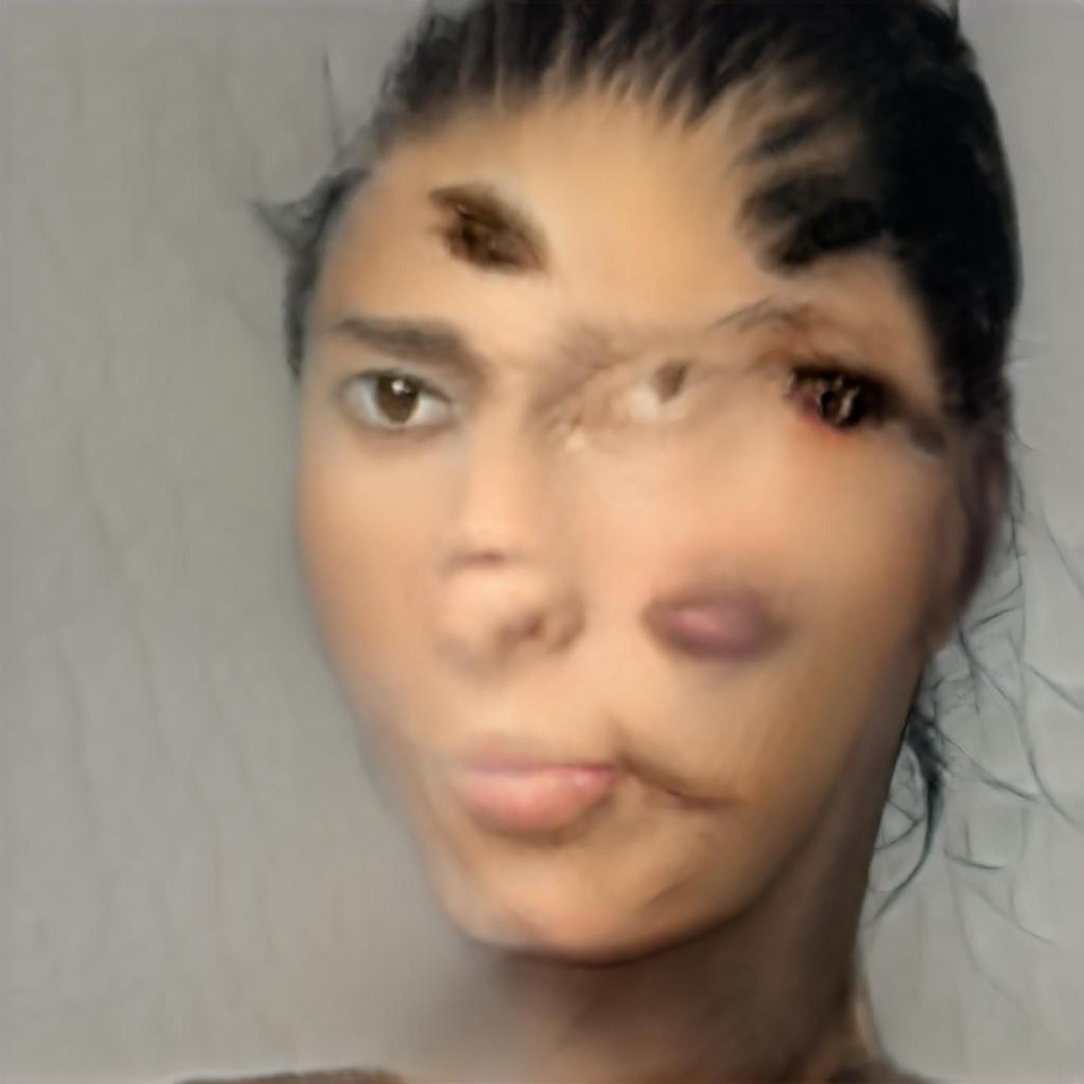 Cibelle Cavalli Bastos: SELF.i.e:0/ StyleGAN2, B.o.W.: A Picture Can't Take Me, Courtesy: Cibelle Cavalli Bastos