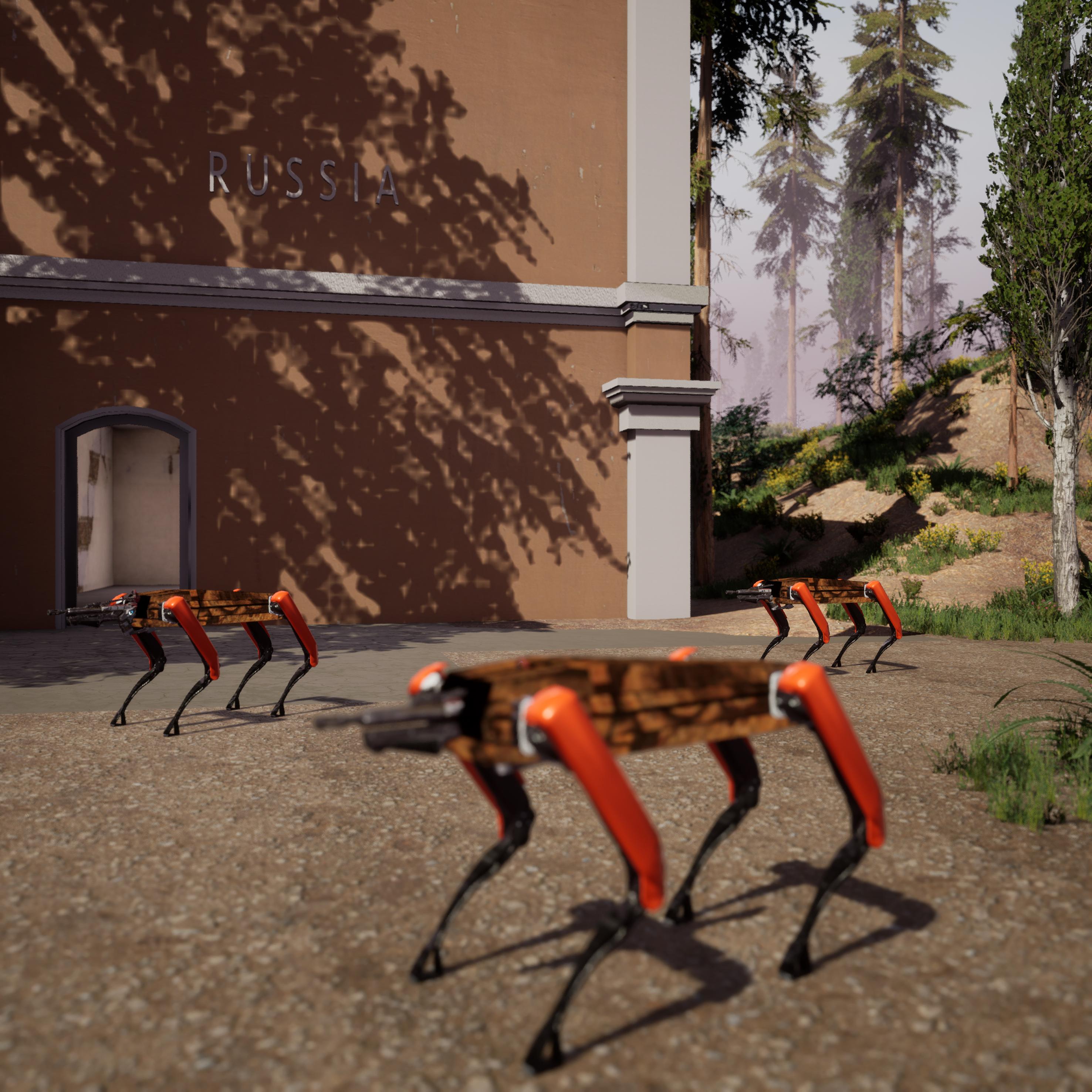 Mikhail Maksimov: Sanatorium Anthropocene Retreat, 2020 Video game, screenshot Courtesy the artist
