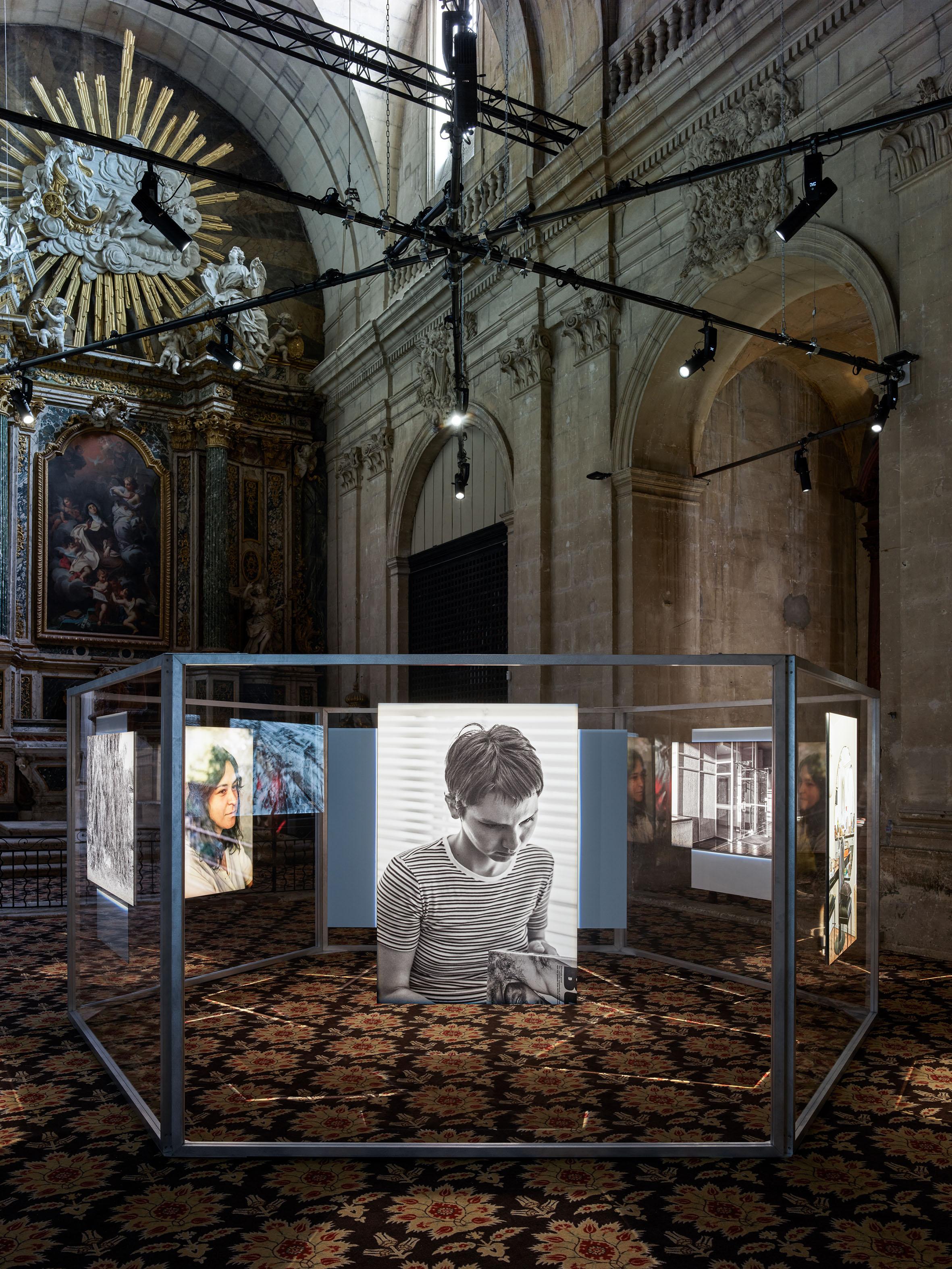 Daniel Reuter, Providencia Chapelle de la Charité, Arles © Romain Girtgen CNA
