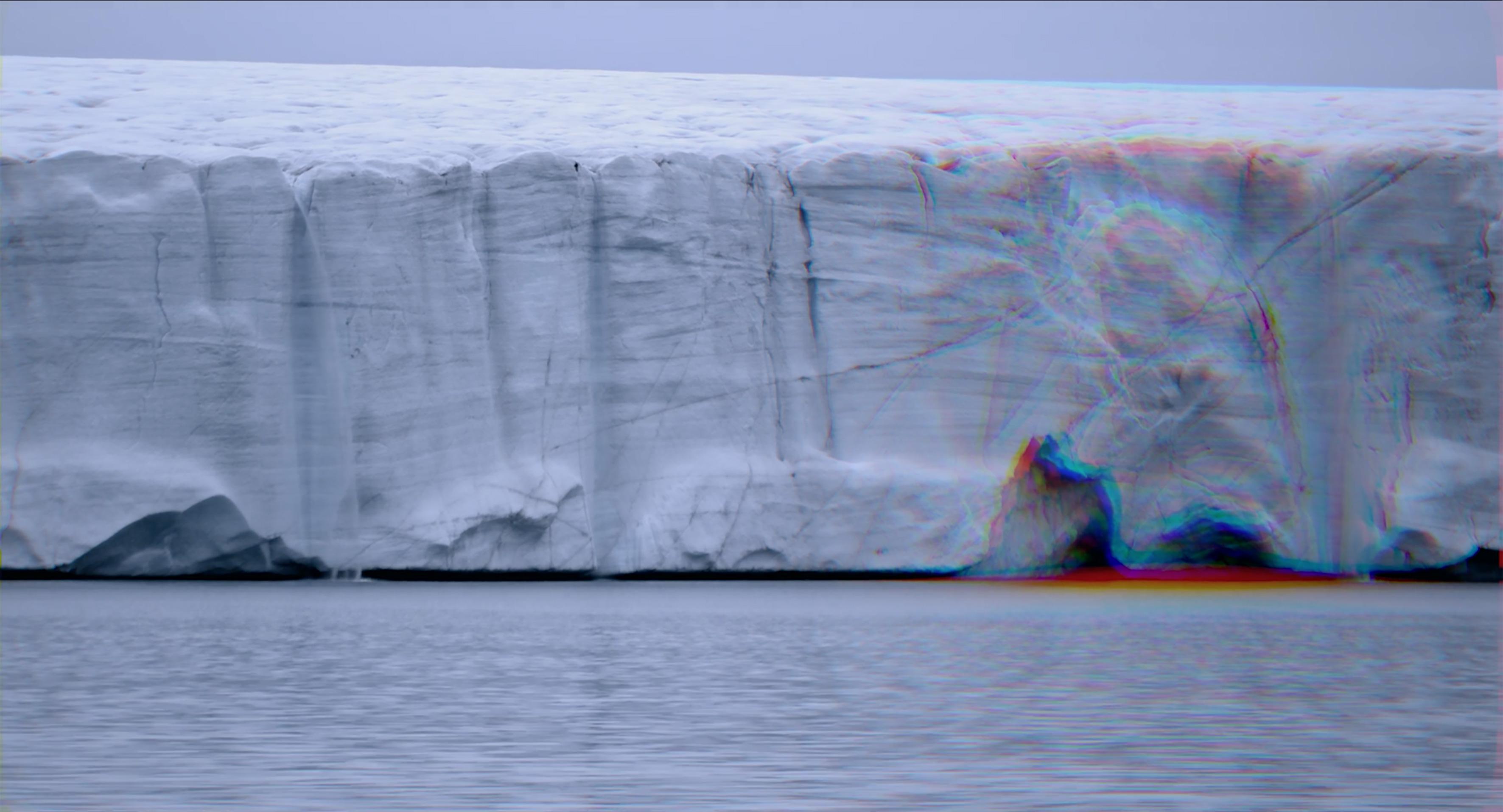 Filmausschnitt von Susan Schuppli, Arctic Archipelago, Digitales HD Video, 2021
