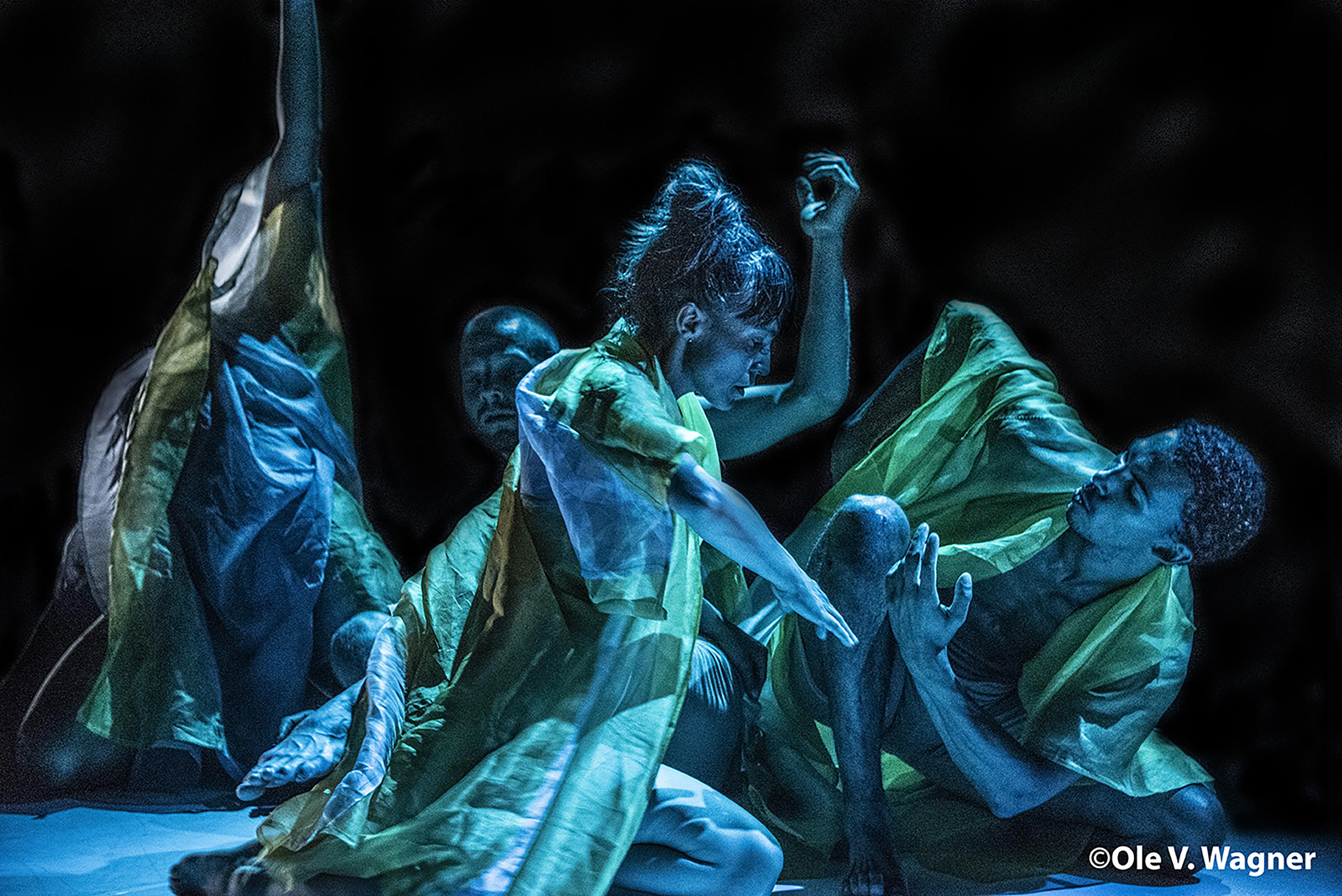 Yggdrasil Dance, Climate trilogy, Tide of Darkness – Oversvømmelse. Foto: Ole V. Wagner © Ole V. Wagner