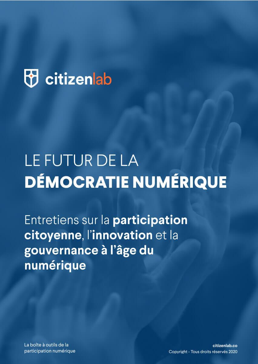 cover avenir de la démocratie numérique