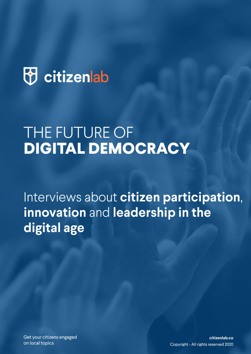 cover page of future of e-democracy guide