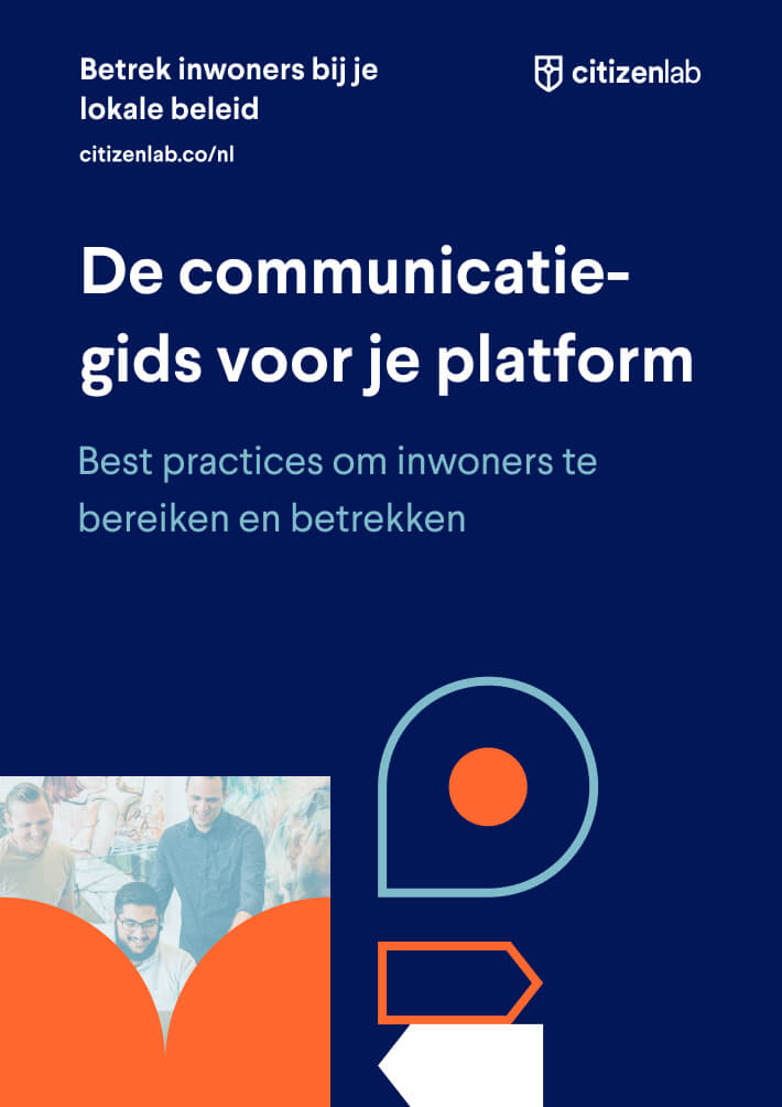 cover gids communicatie burgerparticipatie