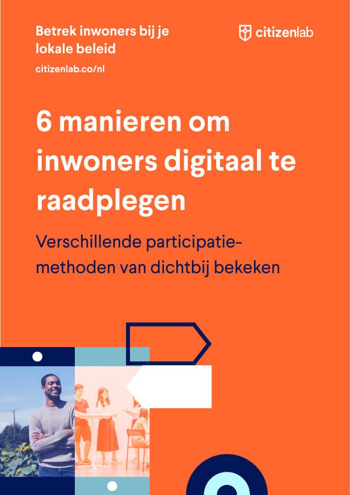 cover 6 manieren online consultatie