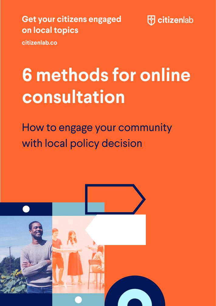 Cover 6 ways online consultation communities