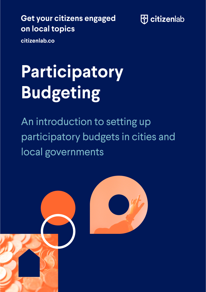cover page of participatory budgeting guide