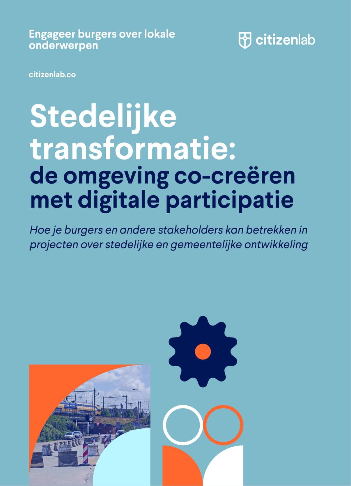 cover gids stedelijke transformatie burgerparticipatie
