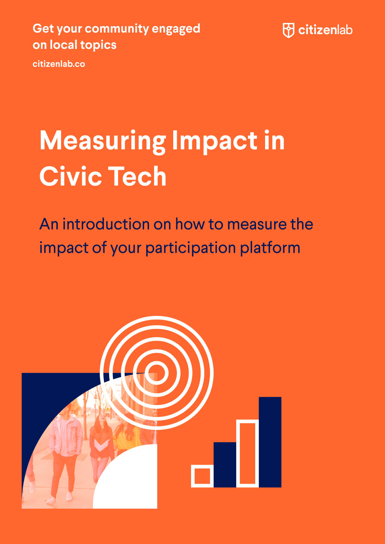 cover page of measuring impact community engagement guide