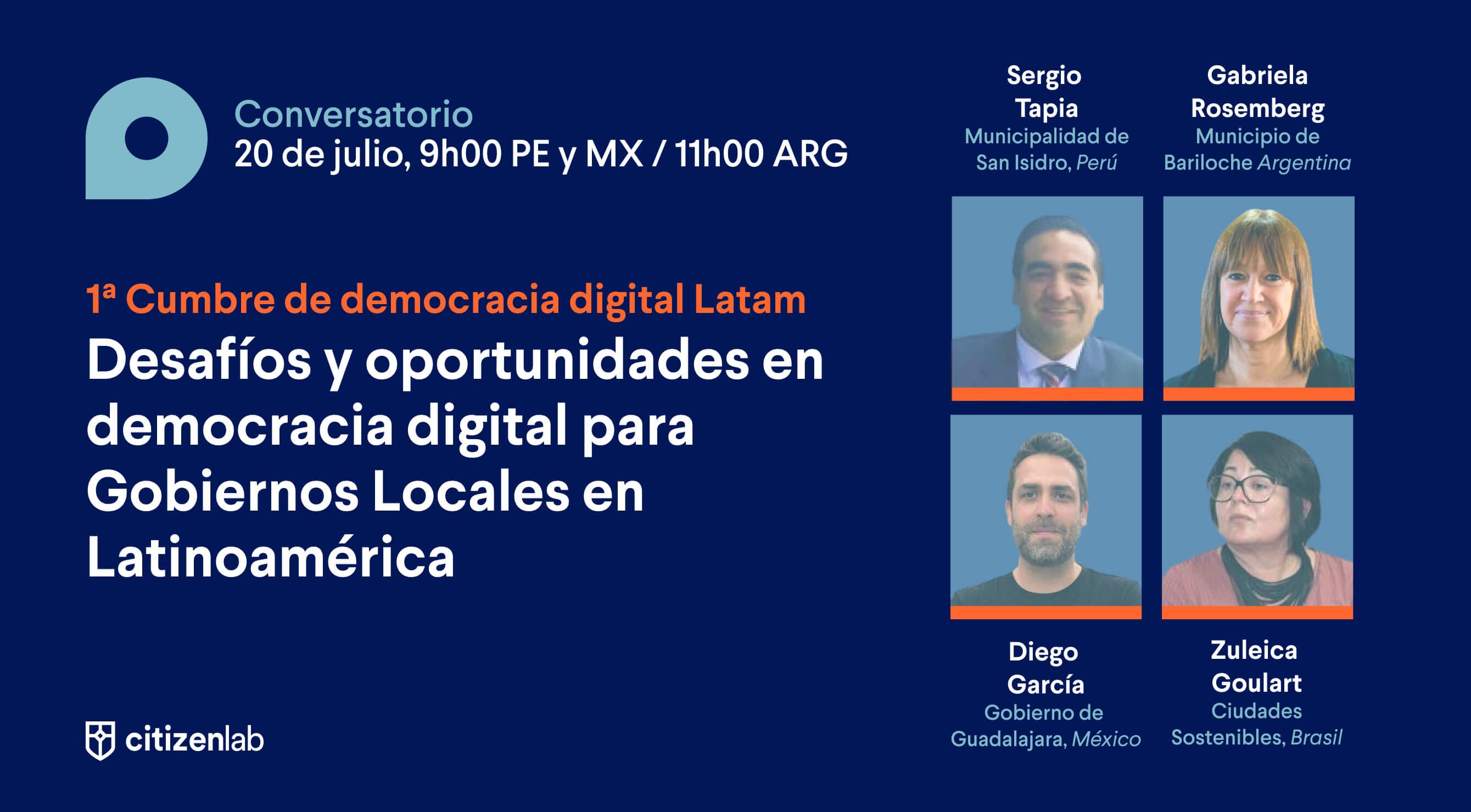 oportunidades y desafios de la participation ciudadana digital
