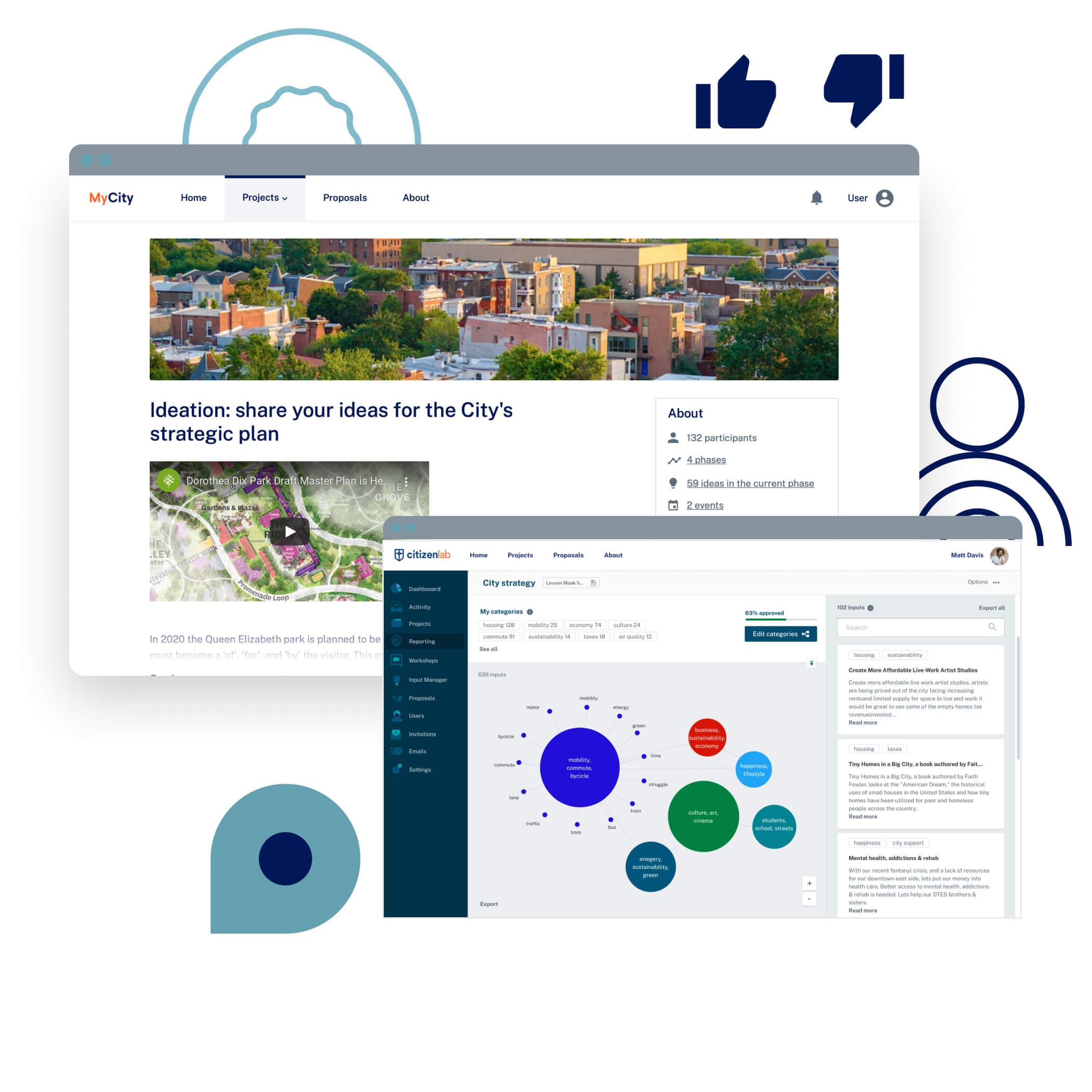 community engagement platform features