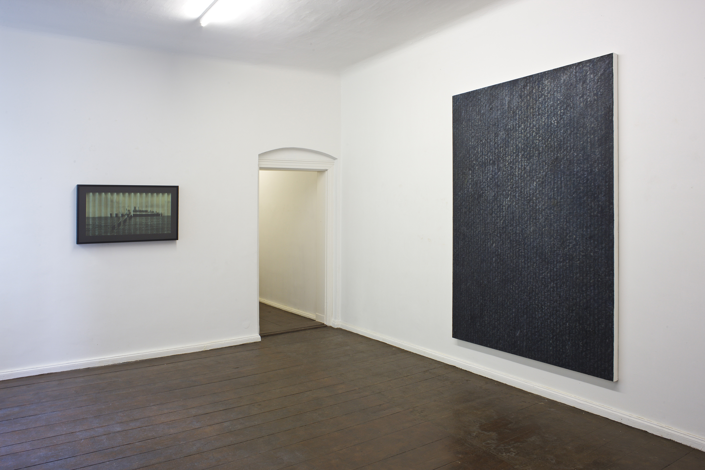 """Installation Views: """"Last Man Standing - After the Change"""", 2016 - Group Exhibition in Berlin Exhibition - Canvas 03 - Painting by Erik Andersen"""