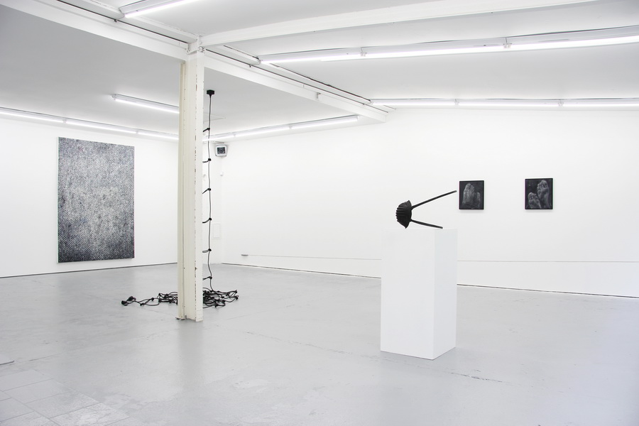 Installation View: Duo Exhibition - Erik Andersen / Lars Teichman - Artworks by Erik Andersen