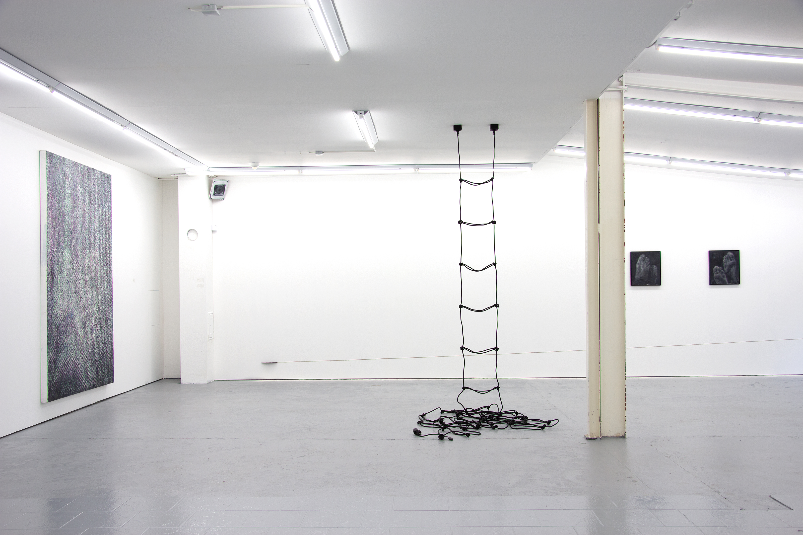 Installation View: Duo Exhibition - Erik Andersen / Lars Teichman - Artworks by Erik Andersen