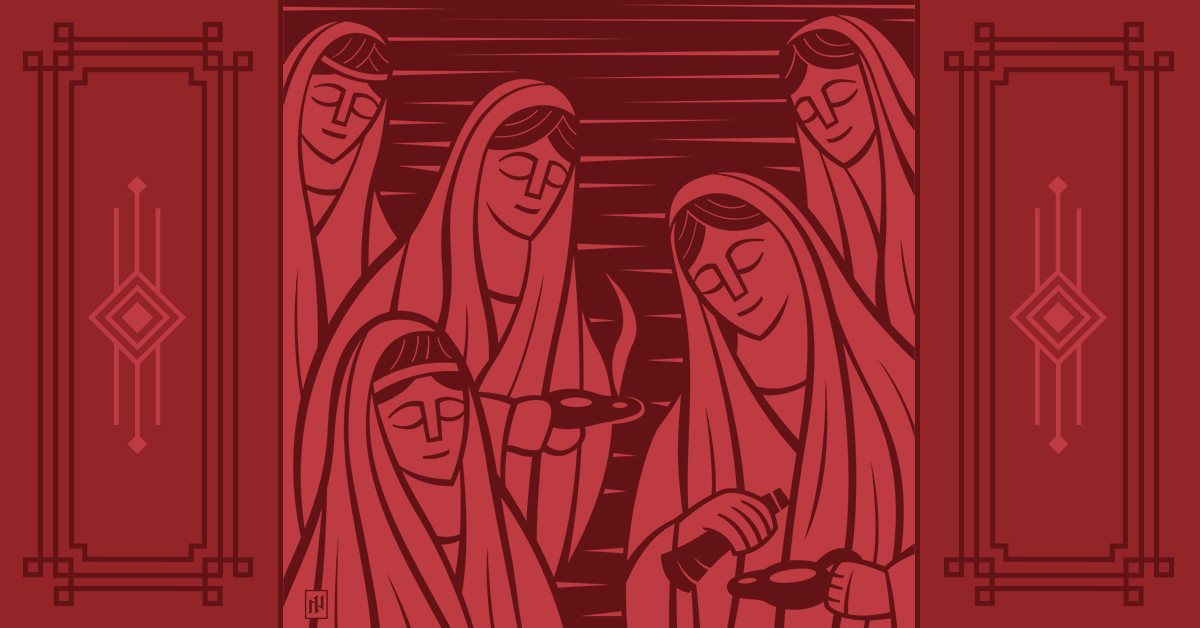 Advent: Devotionals & Liturgies — The Mothers of Christmas
