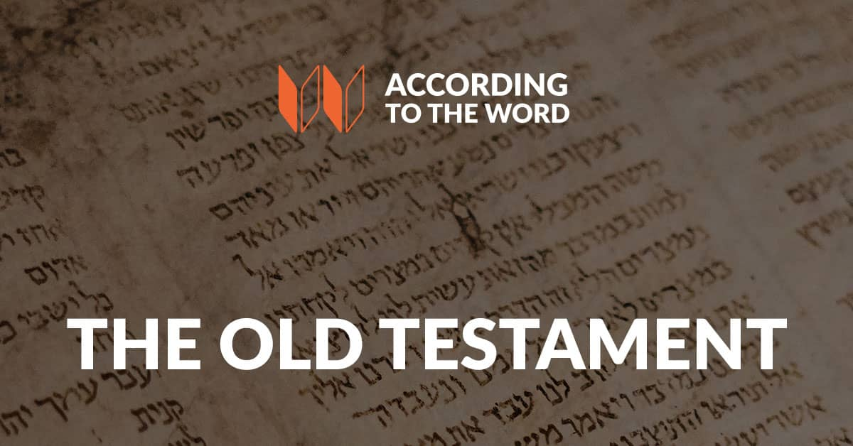 The Old Testament According to the Word